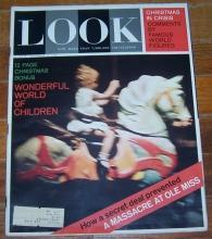Look Magazine December 31, 1962 Wonderful World of Children Cover/Ursula Andres