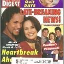 Soap Opera Digest Magazine December 19, 1995 Heartbreak Ahead for Noah and Julia