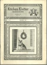 Kitchen Klatter Magazine December 1944 The Poinsettia Around the Kitchen Table