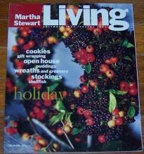 Martha Stewart Living December 1993/January 1994 Deck the Walls/Cookies/Pudding