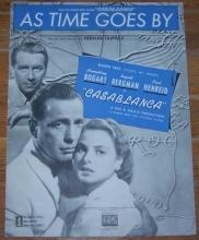 As Time Goes By From Casablanca Starring Humphrey Bogart 1939 Sheet Music