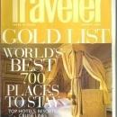 Conde Nast Traveler Magazine January 2006 Gold List/Shangri-La's Last Stand