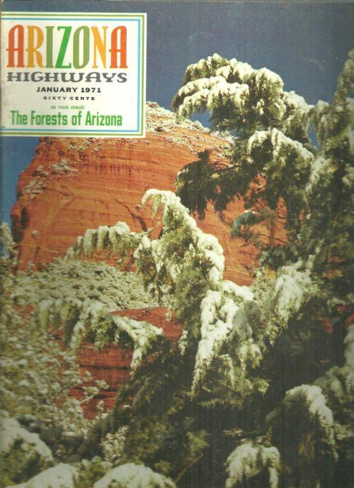 Arizona Highways Magazine January 1971 The Forests of Arizona