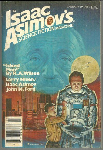 Isaac Asimov's Science Fiction January 19, 1981 Island Man by R. A. Wilson