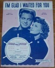 I'm Glad I Waited for You From Tars and Spars Starring Janet Blair 1945 Music