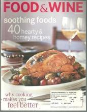 Food and Wine Magazine January 2002 Lemon Herb Chicken on the Cover