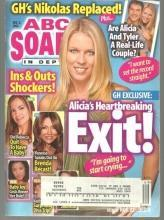 ABC Soaps in Depth December 6, 2005 Alicia's Heartbreaking Exit On Cover