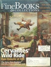 Fine Books and Collections Magazine January/February 2005 Cervantes' Wild Ride