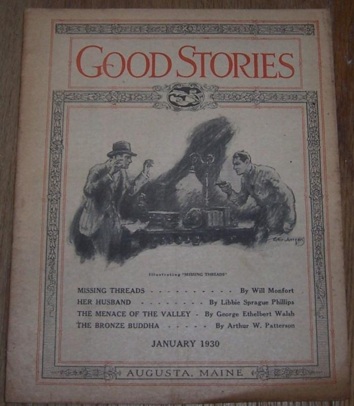 Good Stories Magazine January 1930 Victorian Fiction, Recipes, Household