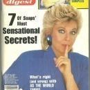 Soap Opera Digest Magazine January 24, 1989 Kim Zimmer from GL on the Cover