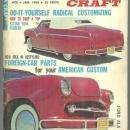 Custom Craft Magazine January 1963 Corvette, Classic Caddy and Headlights