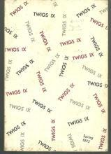 Twigs IX Number 2 Spring 1973 Poetry and Stories from Southern Authors