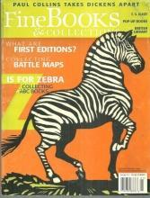 Fine Books and Collections Magazine January/February 2006 ABC Books on  Cover