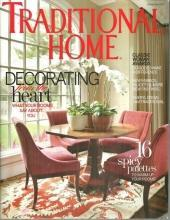 Traditional Home Magazine  November 2010 Decorating From the Heart