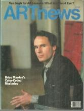 ArtNews Magazine January 1985 Brice Marden on the Cover/Van Gogh/Alvar Aalto