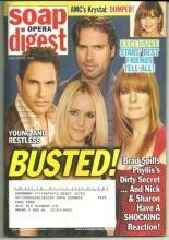 Soap Opera Digest Magazine January 20, 2009 Young and Restless Busted on Cover