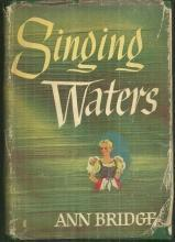 Singing Waters by Ann Bridge 1946 Thriller with Dust Jacket