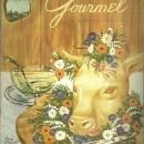Gourmet Magazine February 1954 Alexandre Dumas and Smorgasbord