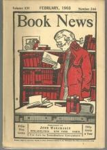 Book News Magazine February 1903 The Day of Eros/Frank Norris/Shakespeare