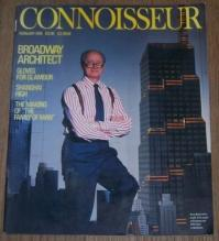 Connoisseur Magazine February 1988 Kevin Roche on the cover/Gloves/Voodoo