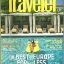 Conde Nast Traveler Magazine February 2009 Europe's New Deal/Palm Springs