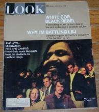 Look Magazine February 6, 1968 Meditaors at Yale on cover/David Hemmings