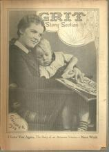 Grit Story Section February 6, 1938 Vintage Fiction, Poetry and Cartoons
