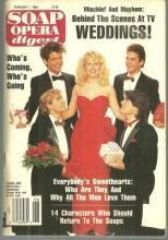 Soap Opera Digest February 4, 1989 Crickett on Cover