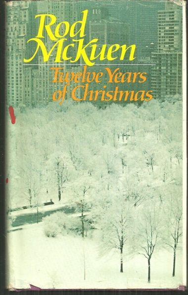 Twelve Years of Christmas, Poems by Rod McKuen with DJ