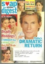 Soap Opera Digest Magazine February 17, 2009 Phillip's Dramatic Return to GL