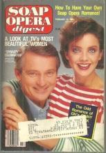 Soap Opera Digest Magazine February 12 1985 Judith Chapman and Chris Robinson GH
