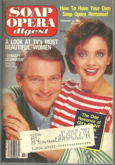 Soap Opera Digest Magazine February 12 1985 Judith Chapman and Chris Robinson GH