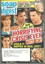 Soap Opera Digest Magazine February 3, 2009 Most Horrifying Crisis Ever Hits GH