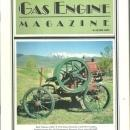 Gas Engine Magazine February 1989 1912 International Harvester Victor on Cover