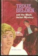 Trixie Belden and the Black Jacket Mystery by Kathryn Kenny #8 1970 Whitman