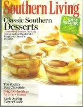 Southern Living Magazine February 2012 Classic Southern Desserts, Florida Keys