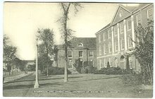 Postcard of Gymnasium Stevens Hall, University of Maine
