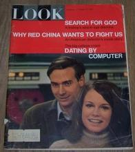 Look Magazine February 22, 1966  Computer Dating on Cover/Gypsy Rose Lee