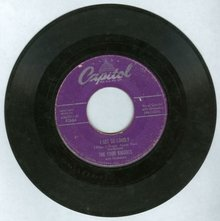 Four Knights Sing I Get So Lonely 45 RPM Record