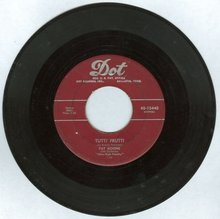 Pat Boone Tutti Fruiti/I'll Be Home 45RPM Record