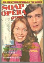 Soap Opera Digest March 1977 Jamie Lyn Bauer and John McCook from YR on Cover
