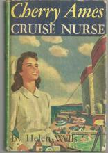 Cherry Ames Cruise Nurse by Helen Wells 1948 Pictorial cover Cherry Ames #9