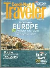 Conde Nast Traveler Magazine March 2006 Enchanted Europe on the Cover