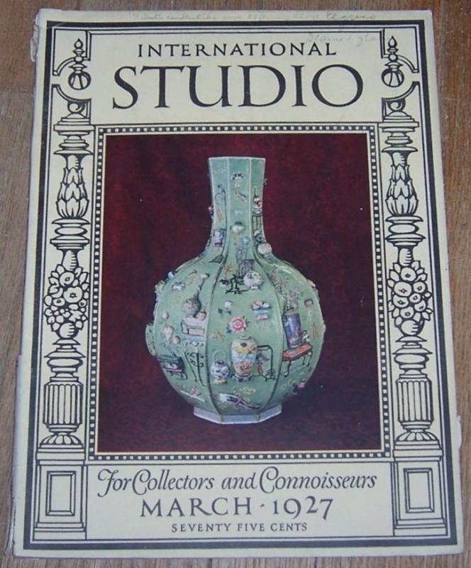 International Studio with Connoisseur Magazine March 1927  William Kent