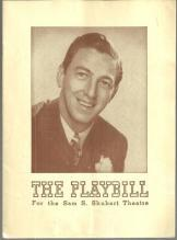 Playbill Ray Bolger in Rodgers and Hart's New Musical Comedy By Jupiter 1943