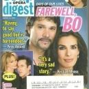 Soap Opera Digest March 18, 2008 Farewell Bo from Days of Our Lives on Cover