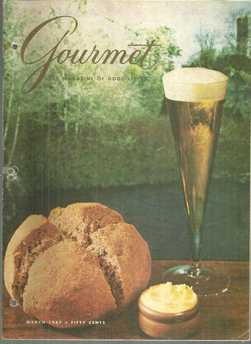 Gourmet Magazine March 1967 Dinners from the Gaelic, Meats for Easter Feasts