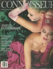 Connoisseur Magazine March 1986 Fred Leighton Jeweler Extraordinaire on Cover
