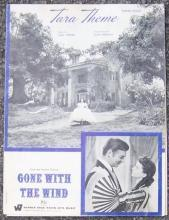 Tara Theme From the Motion Picture Gone With the Wind 1939 Sheet Music