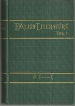 History of English Literature Volume I by H. A. Taine 1877